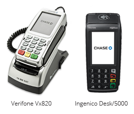 Verifone VX520 and Ingenico Desk 5000