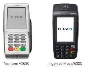 Verifone VX680 and Ingenico Move 5000
